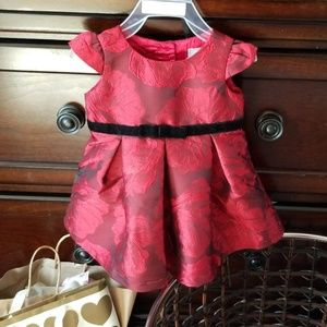 New never used baby girl color Red and black